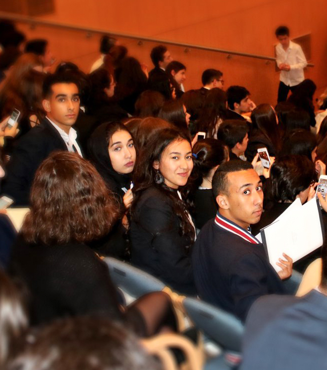 Modal United Nations Conference hosted by ENKA schools Istanbul-Turkey.