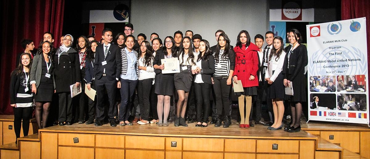 The First ELARAKI Model United Nations Conference 2013