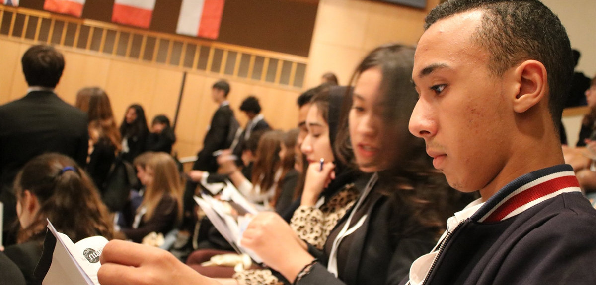 Model United Nations Conference hosted by ENKA schools Istanbul-Turkey.