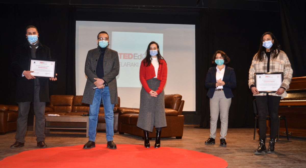 TED-Ed club held its second TED-Ed student Talks Showcase Event.